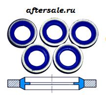 шайба с резинкой aftersale.ru