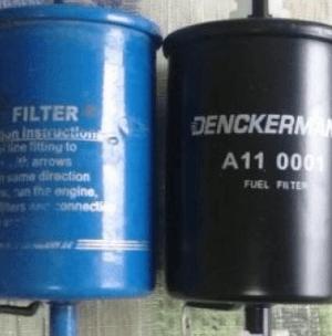 Видео как заменить топливный фильтр
