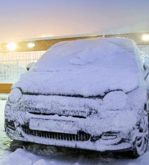 Как разморозить автомобиль в мороз