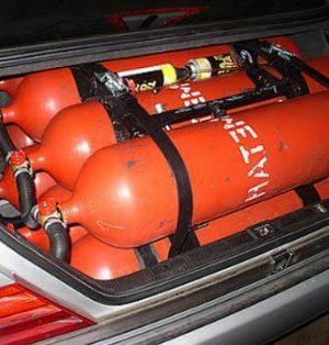 Сжиженный нефтяной газ на автомобиле