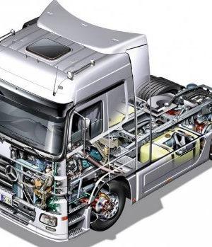 Запчасти для грузовых автомобилей Mercedes